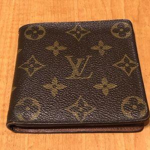 Louis Vuitton bifold vintage wallet